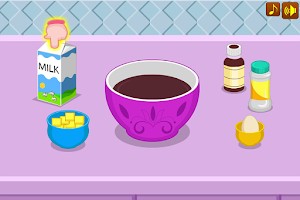 Screenshot of Chocolate royal cake game