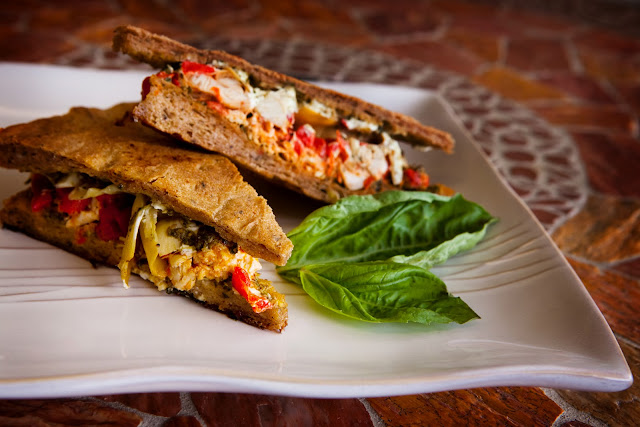 Mediterranean Panini- out of this world good!