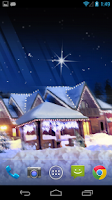 Screenshot of Christmas Silent Night LWP