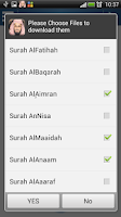 Screenshot of Holy Quran - Saud Al Shuraim