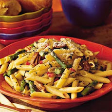 Asparagus Pasta With Toasted Pecans
