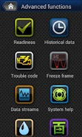 Screenshot of iCard