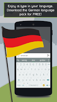 Screenshot of German for ai.type Keyboard