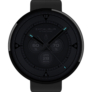 In the Dark watchface by Excal