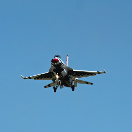 Show's Over by Karin Bennett - Transportation Airplanes ( f-16, air show, thunderbirds,  )