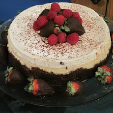 Holiday Brandy Alexander Cheesecake