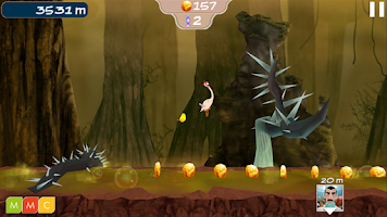 Screenshot of Run, Time Chicken!