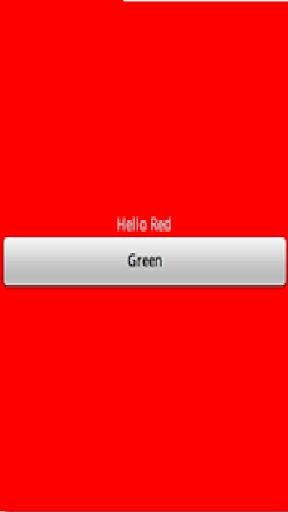 Red Green Flashlight