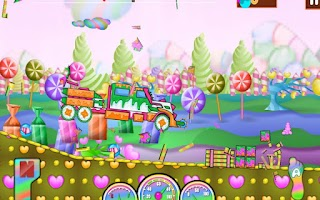 Screenshot of Candy Smasher Hill Racer