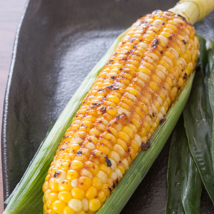 Grilled Butter Miso Corn