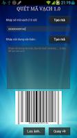 Screenshot of Quét mã vạch 1.3