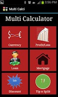 Screenshot of Multi Calci Finance Calculator