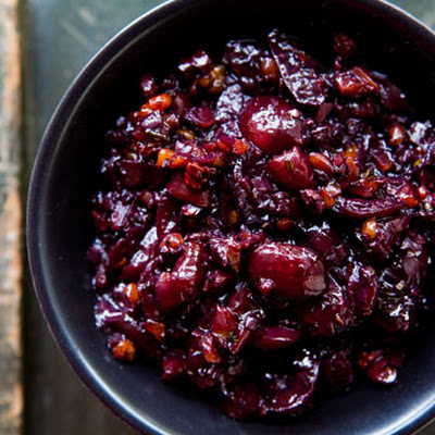 Savory Cherry Compote