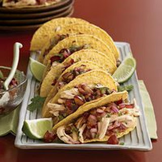 Chicken Tacos with Spicy Grape Salsa