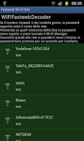 Screenshot of Fastweb Wi-Fi Decripter