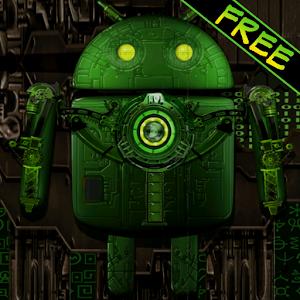 Steampunk Droid Free Wallpaper for PC