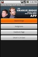 Screenshot of Charlie Hodge Half Time Show