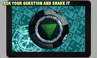 Screenshot of Magic 8 Ball - 3D
