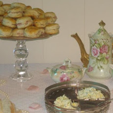 Ham Tea Biscuits With Blackberry Mustard or Lemon Herb Butter