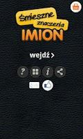 Screenshot of Śmieszne Znaczenie Imion XXL
