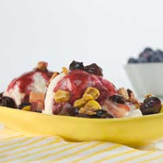 Indy Sundaes With Blueberries, Corn & Bacon