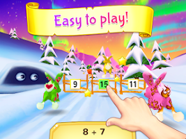 Screenshot of Wonder Bunny Math Race Grade K