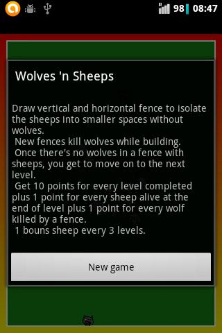 Wolves and sheeps
