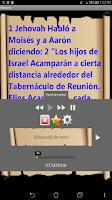 Screenshot of Biblia Audio en Español