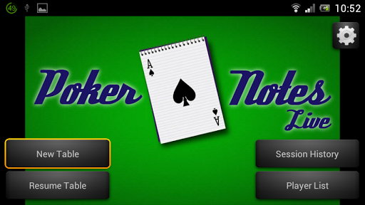 Poker Notes Live - Premium - screenshot