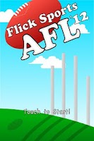 Screenshot of Flick Sports AFL 2012