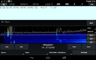 Screenshot of KX3 Companion for Ham Radio