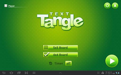 Text Tangle