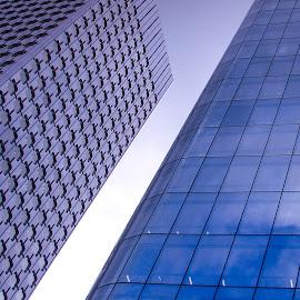 Hights by Adrian Podaru - Buildings & Architecture Office Buildings & Hotels ( office, facade, skyscraper, buildings, windows,  )