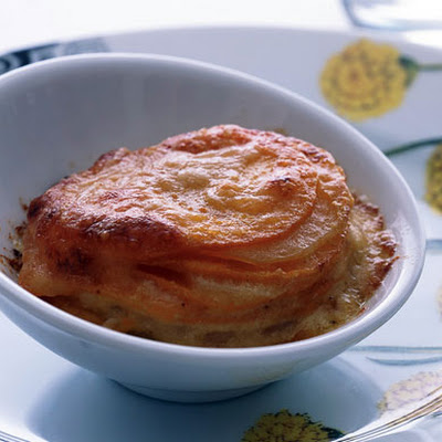 Sweet-Potato Gratins