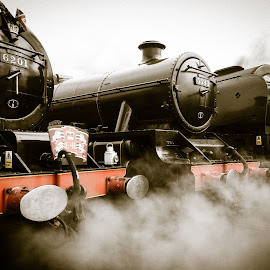 Tyesley Steam Day by Mark Wood - Transportation Trains ( steam engine, transport, vintage, steam train, smoke, steam,  )