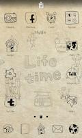 Screenshot of Life time go launcher theme