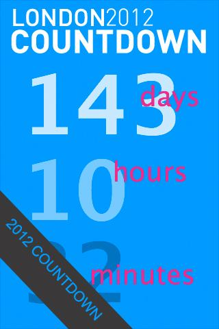 London 2012 Countdown