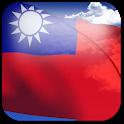 3D Taiwan Flag icon