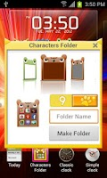 Screenshot of Characters Folder Lite