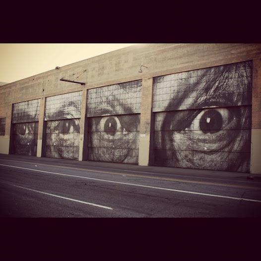 Moved by the Street Art popping up all over Los Angeles, Chuck Self was swept away.