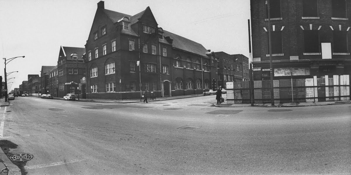Hull-House, Chicago, Illinois. 1960s. LIFE Photo Collection.