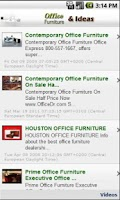 Screenshot of Office Furniture & Design