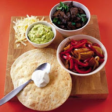 Roll-your-own Fajitas