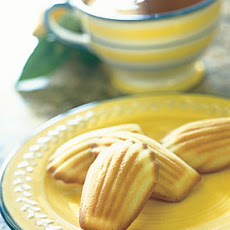 Earl Grey Tea Madeleines with Honey