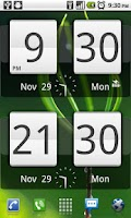 Screenshot of Sense Analog Clock Widget 24