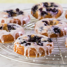 Honey Blue Blue Berry Donuts, Gluten Free