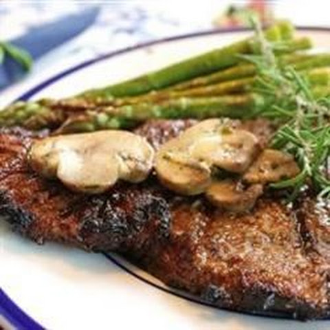 Grilled Delmonico Steaks