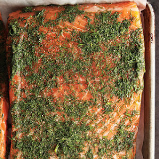 Gravadlax (Swedish Cured Salmon)