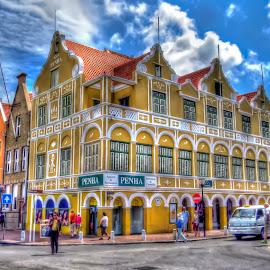 Curaçao Streets by Rubens Campos - City,  Street & Park  Street Scenes ( curaçao, streets, holanda, caribe )