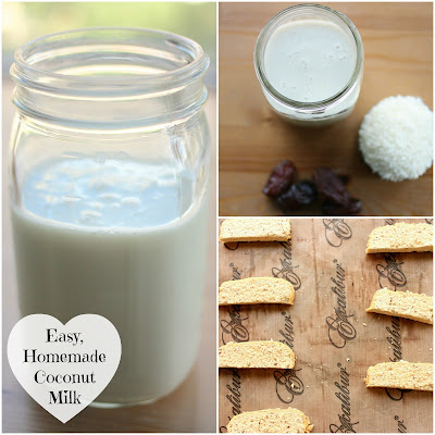 Quick, Easy and Delicious Homemade Coconut Milk